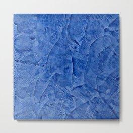 Beautiful Vibrant Light Blue Plaster #society6 #bluedecor #blue | Corbin Henry Metal Print
