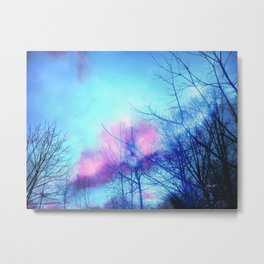 Listening to the Wind Metal Print