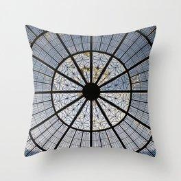 Circular Patterns Throw Pillow