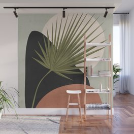 Tropical Leaf- Abstract Art 5 Wall Mural