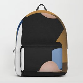 Girl with a Pearl Earring Hommage Parody Backpack