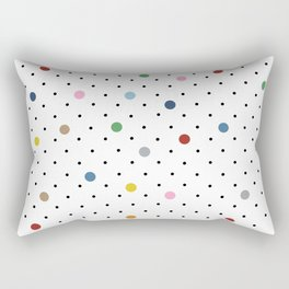 Pin Points Polka Dot Rectangular Pillow