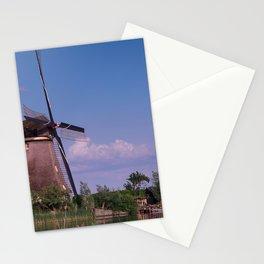 Evening In Kinderdijk Stationery Cards