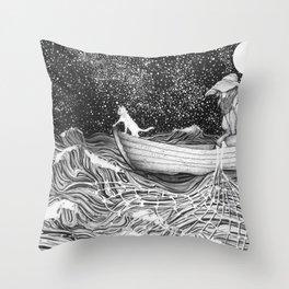 The Fisherman's Companion Throw Pillow