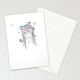 Bubble Head Stationery Cards