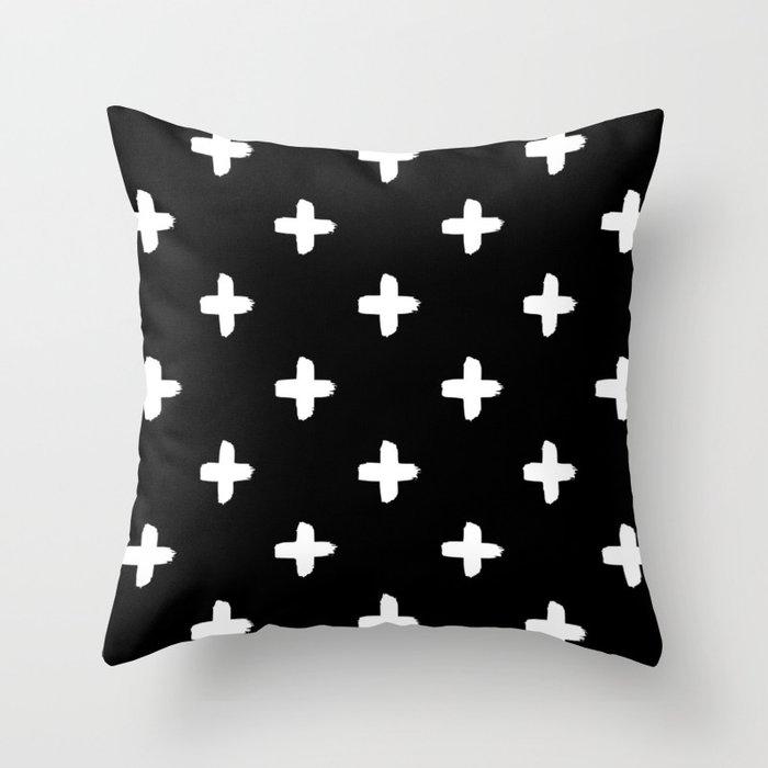 Criss Cross pattern Deko-Kissen