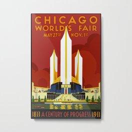 1933 Chicago World's Fair Metal Print