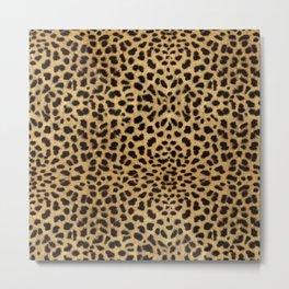 Cheetah Print Metal Print