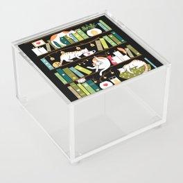 Library cats Acrylic Box