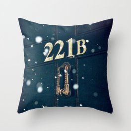 Victorian 221B Throw Pillow