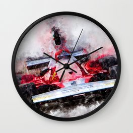 Niki Lauda No.1 Wall Clock