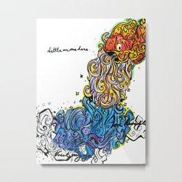 Cosmic Fishery Metal Print