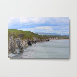 Arch from Dunluce Castle Metal Print