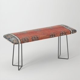 Bakhshaish Azerbaijan Northwest Persian Carpet Print Bench