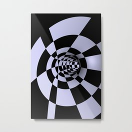 opart -60- inside the donut Metal Print