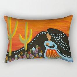 Desert Mother Rectangular Pillow
