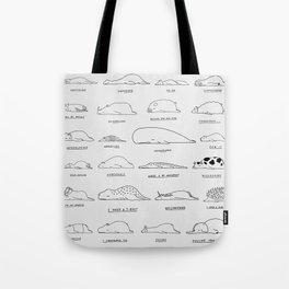 Moody Animals Pattern Tote Bag