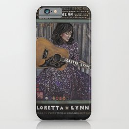 Loretta Lynn iPhone Case