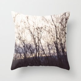 Wave in the Wind Throw Pillow