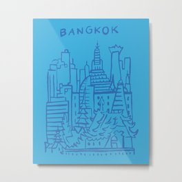 Bangkok Thailand Metal Print