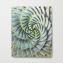 Succulent by Zouzounio Art Metal Print