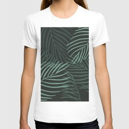 Dark Palm Leaves T-shirt