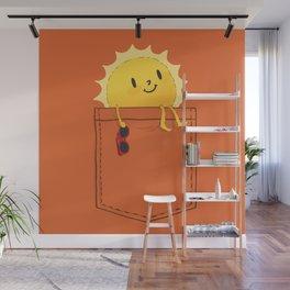 Pocketful of sunshine Wall Mural