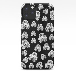POODLE DOG AND FRIEND iPhone Case
