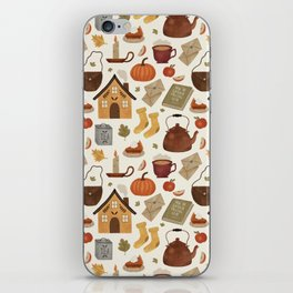 Autumn Cottage Days iPhone Skin