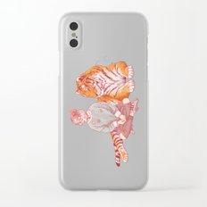 I'm a cat Lady Clear iPhone Case