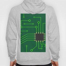 Microchip Pcb, tech print Hoody