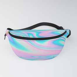 neon holographic Fanny Pack