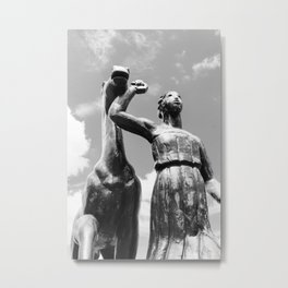 The Amazonian Horse Metal Print