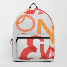 Exit Only, Baby Backpack