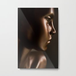 the doll from the baby blue house Metal Print