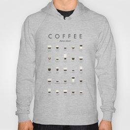 Coffee Chart - Espresso Classics Hoody