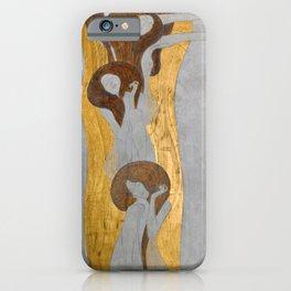 Gustav Klimt - Die Künste iPhone Case