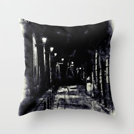 Barcelona, Streets Throw Pillow