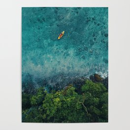 Kayaking in The Philippines  Poster