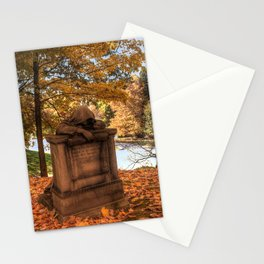 Pleurant with prayer. Stationery Cards