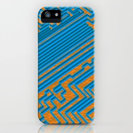 The Great Maze at The Temple of Stairs iPhone Case