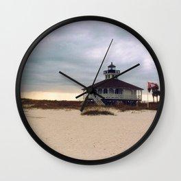 Lighthouse, Gasparilla Island Wall Clock