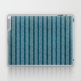 Mud cloth Teal Arrowheads Laptop & iPad Skin