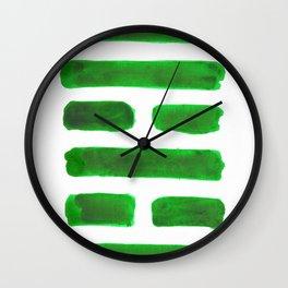 The Family - I Ching - Hexagram 37 Wall Clock