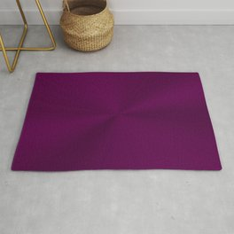 Luxurious regal purple with shiny effect Rug