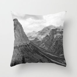 Majestic Sweep - Glacier NP Throw Pillow