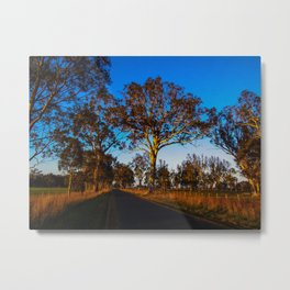 Sunny Afternoon Road Metal Print
