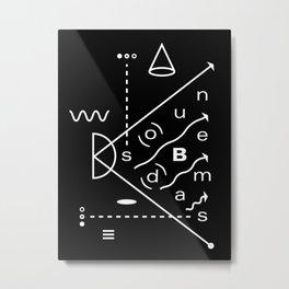 Soundbeams Metal Print