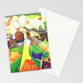 Gino Severini Red Cross Train Stationery Cards