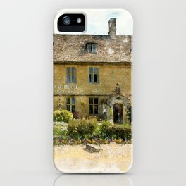 The Dial House, Bourton-on-the-Water iPhone Case
